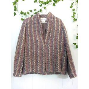 Vintage Donnkenny Lambs Wool Blazer Jacket